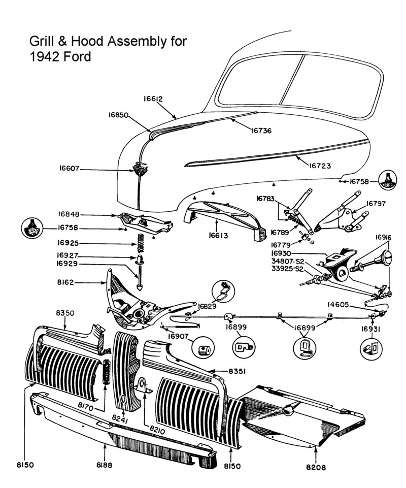 1952 Ford Truck Wiring Diagram. Ford. Wiring Diagram Images