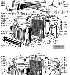 flathead parts drawings radiators ford truck radiator diagram [ 750 x 1094 Pixel ]