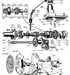 flathead ford engine internal diagram [ 800 x 1046 Pixel ]