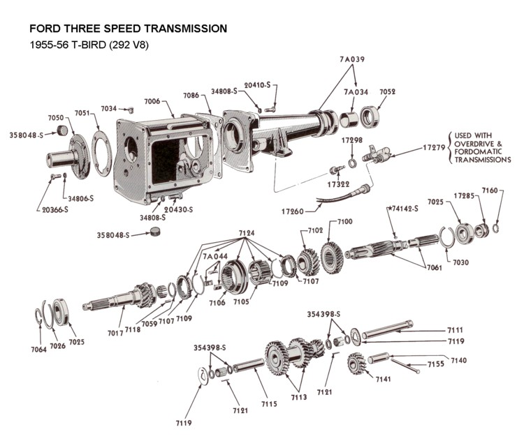 Wiring Diagrams For Ford Overdrive Transmission Ford