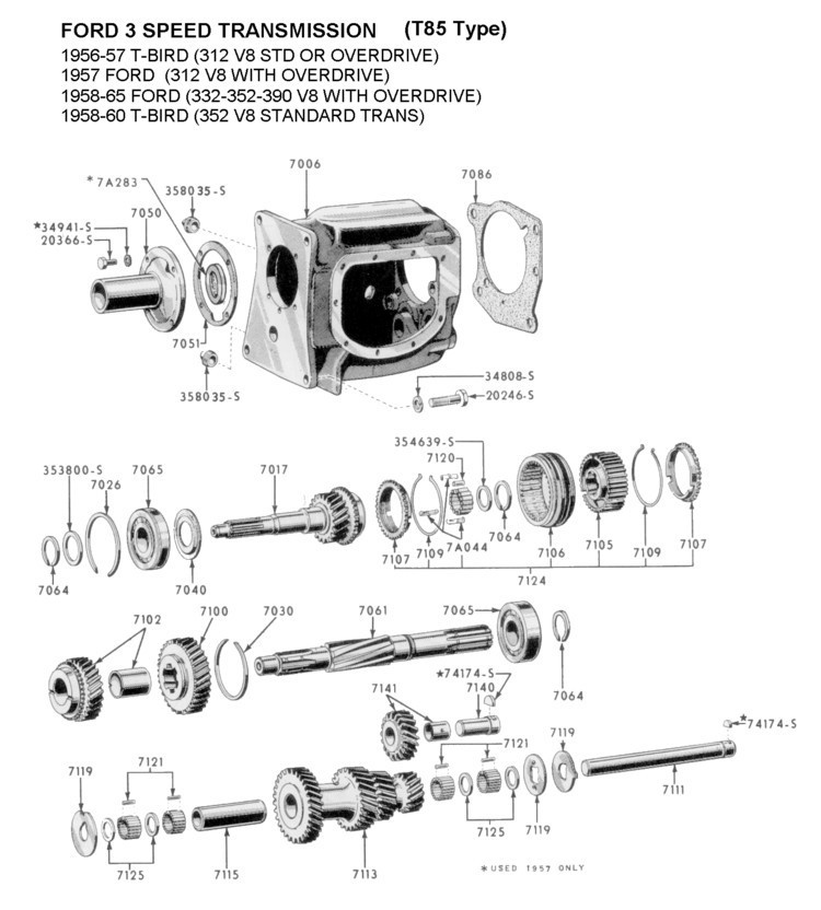 1953 Flathead Ford Engine Parts Diagram Html