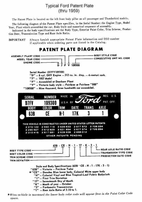 small resolution of ford part catalog with diagram