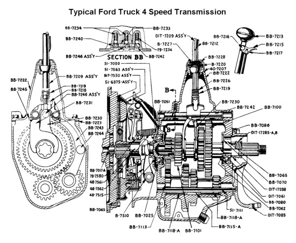 Ford Truck Four Speed Parts Prices