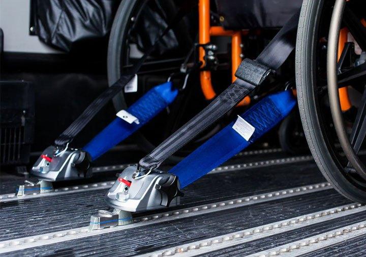 Wheelchair Tie Downs