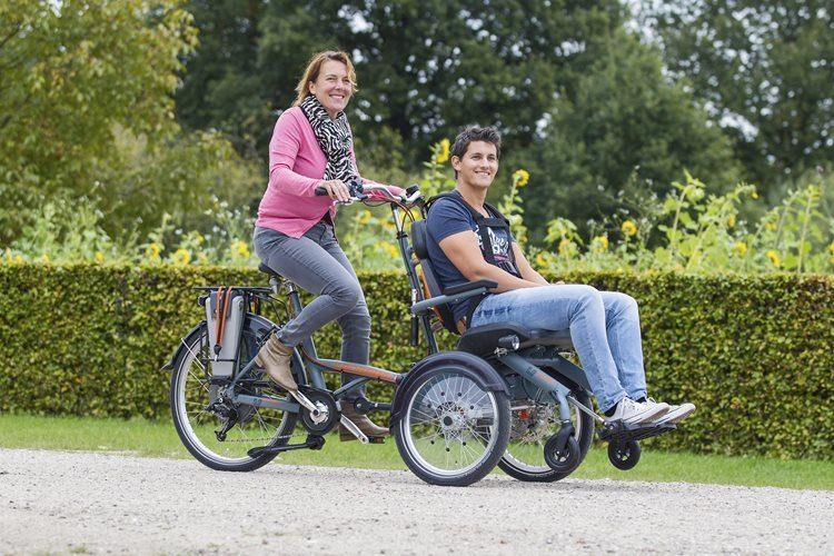 Wheelchair bike Opair  Van Raam