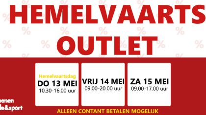 Hemelvaarts outlet - Van Rijbroek