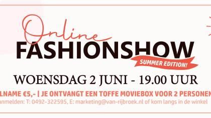 Modeshow 2.0 | Van Rijbroek Boekel