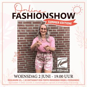 Online Fashionshow 2.0 | Van Rijbroek Boekel