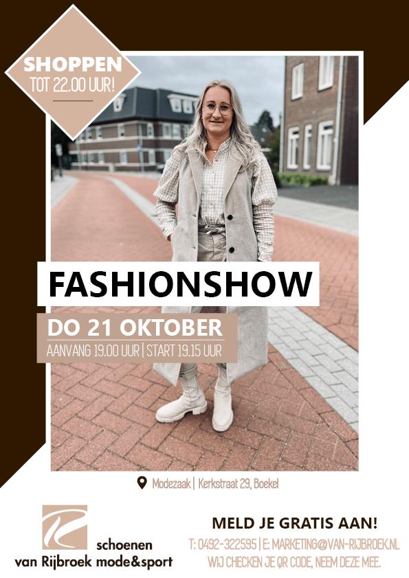 Fashionshow Van Rijbroek