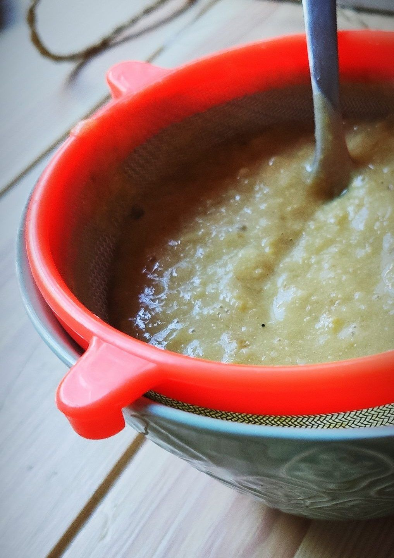 Colar salsa de maiz
