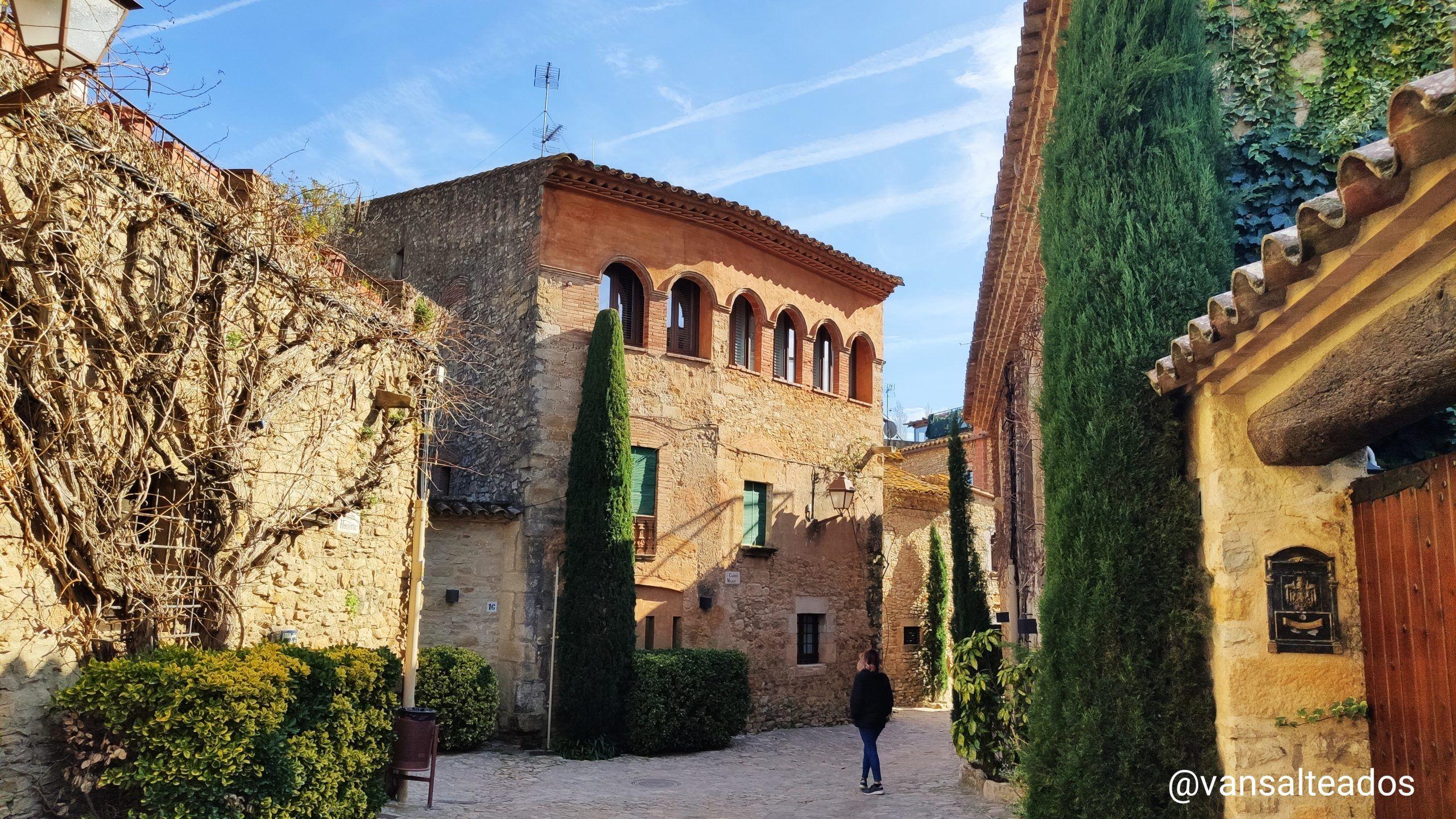 Peratallada, pueblos medievales más bonitos de Girona