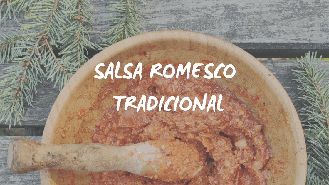 Enlace a Salsa romesco tradicional a la brasa