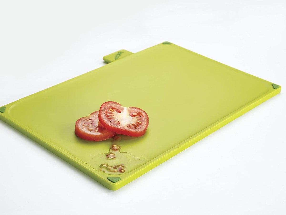 tabla de cocina verde