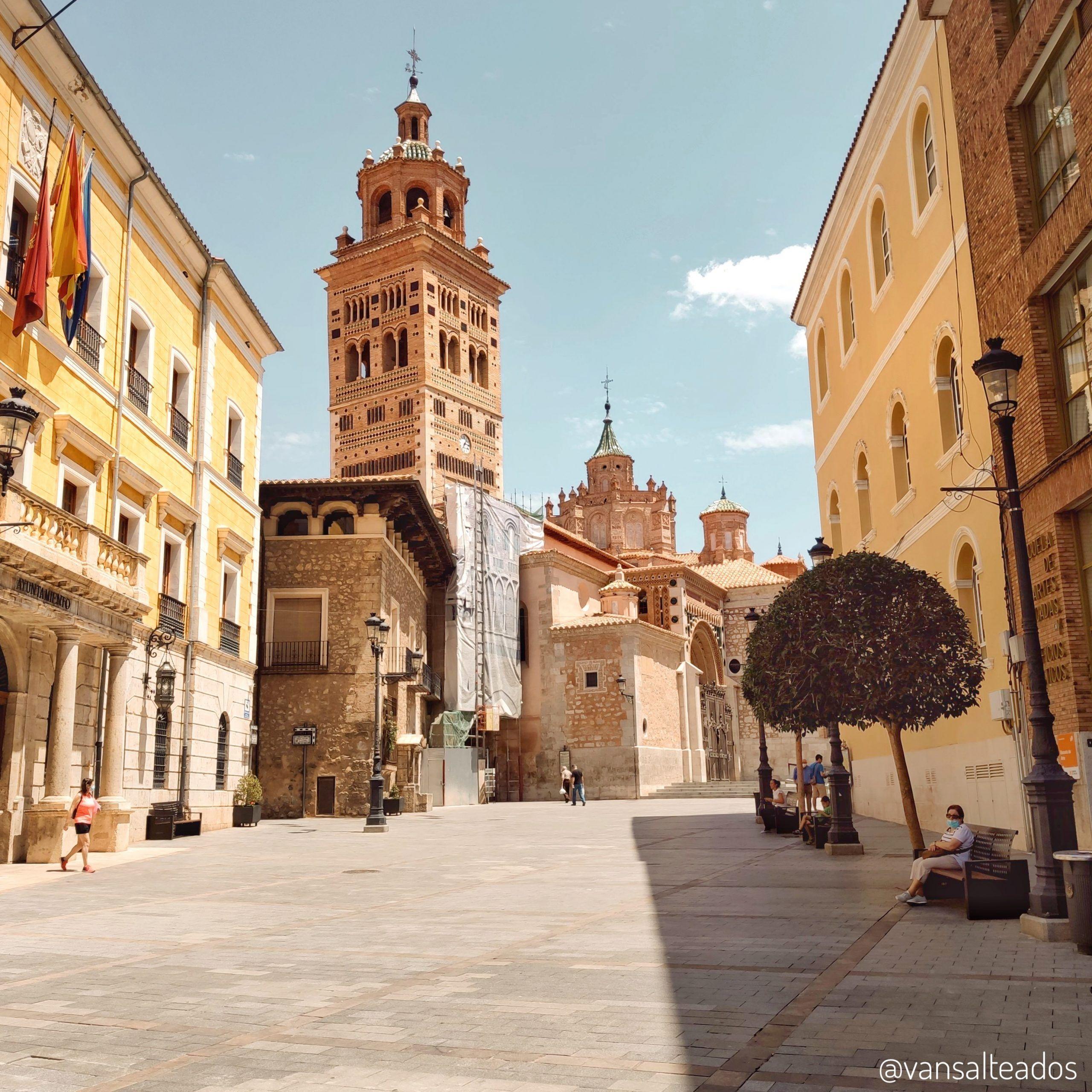 Torre mudéjar en Teruel
