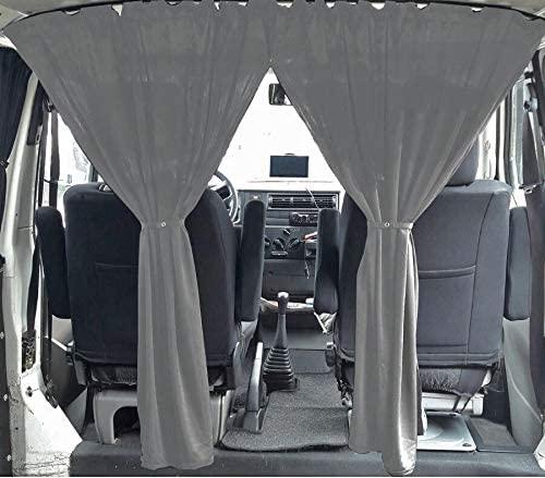Cortina cabina furgoneta