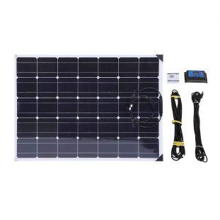 placa solar flexible 150W autocaravana