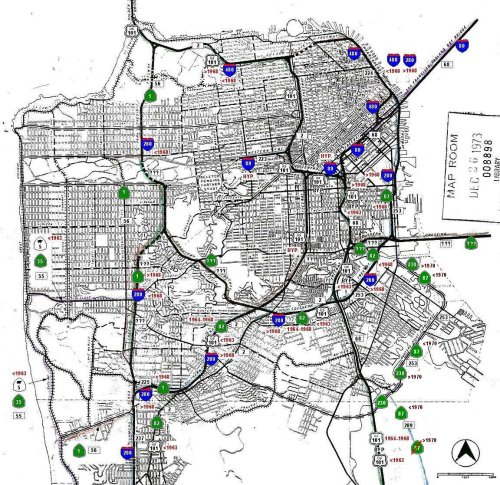 small resolution of 1955 expressway plan