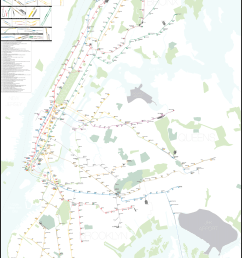 a complete and geographically accurate nyc subway track map click the image to download the pdf map  [ 1024 x 1536 Pixel ]