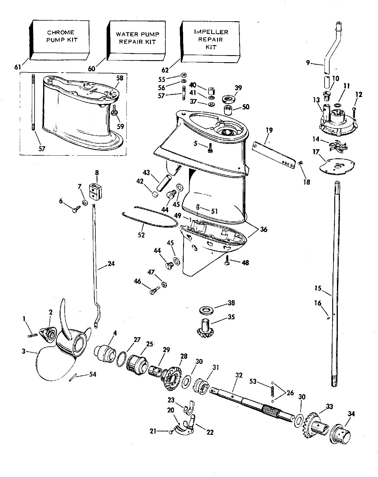 25 hp johnson outboard parts diagram structured media panel brp en 1977 25r77h gearcase