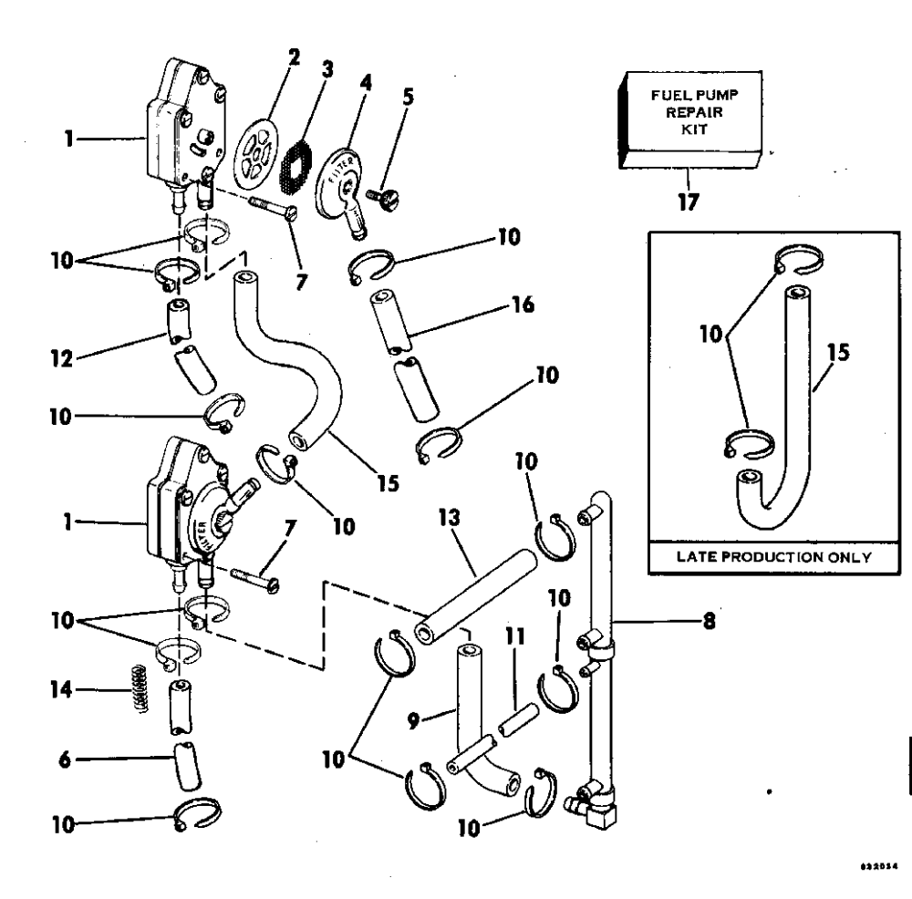medium resolution of ref description qty required price 1 fuel pump