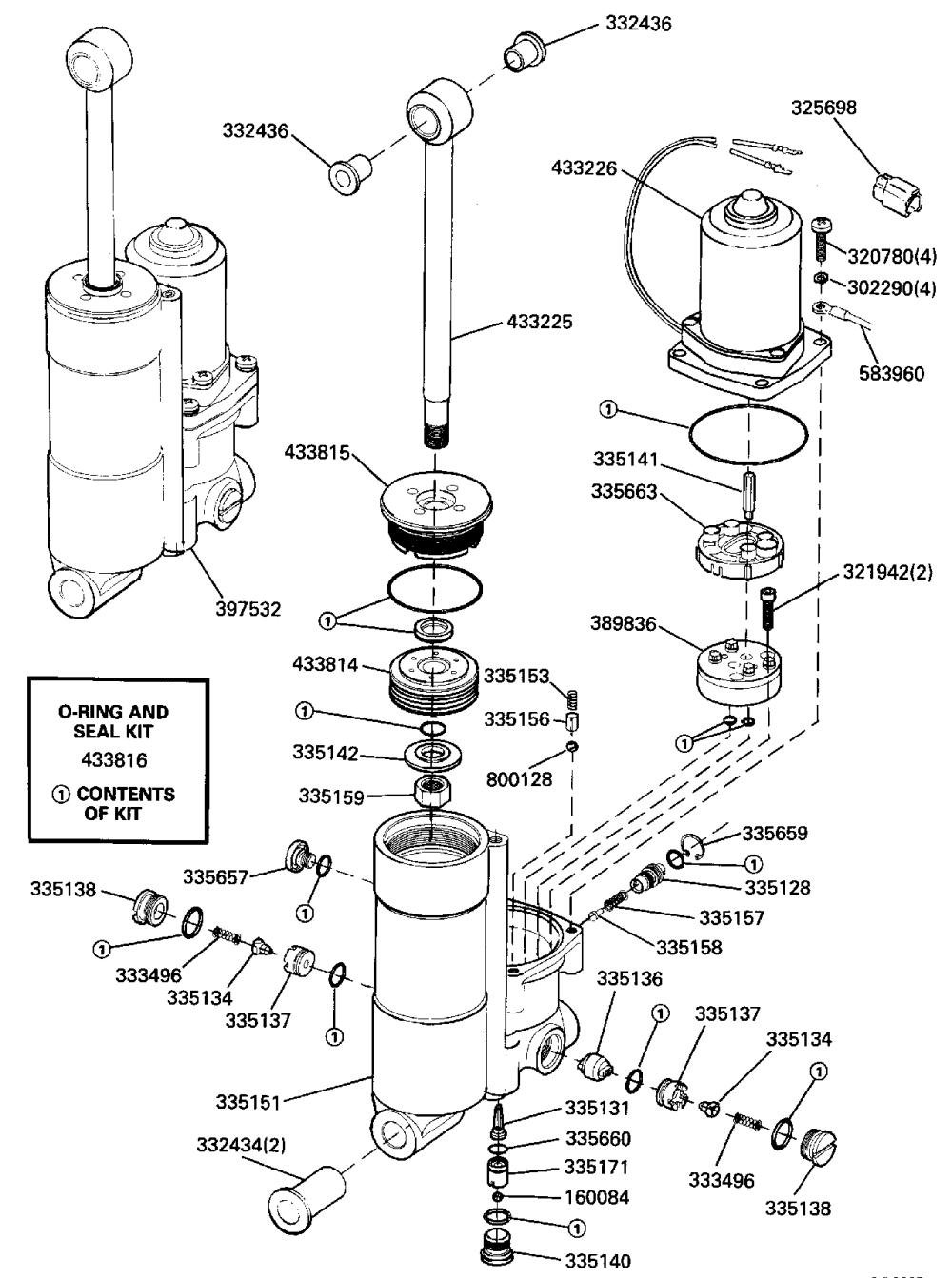 medium resolution of brp johnson en 1989 40 j40ecec 1989 power tilt trim