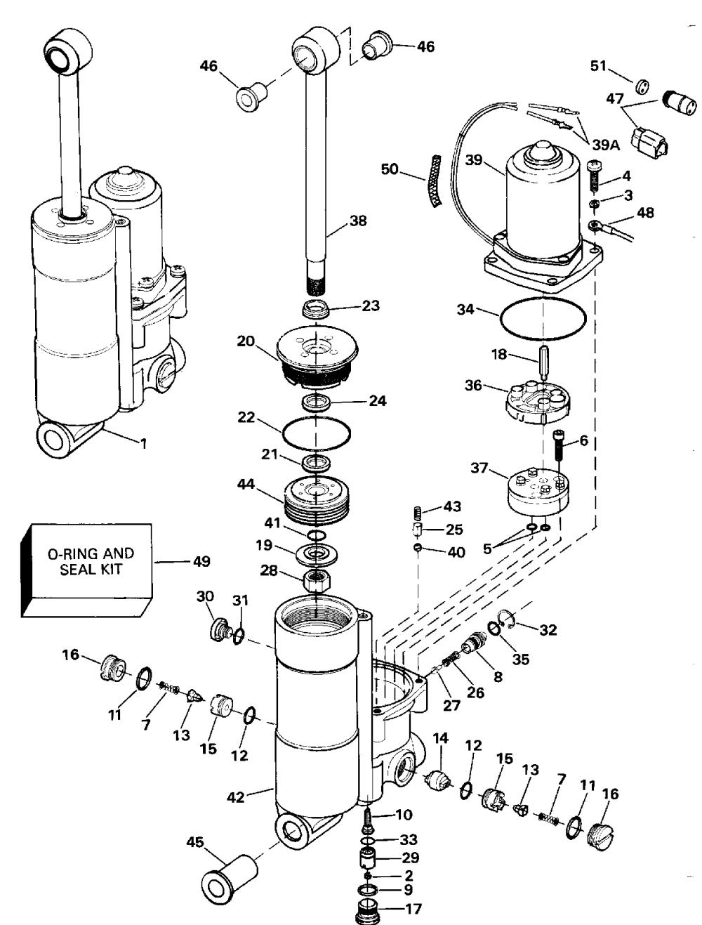 medium resolution of brp johnson en 1992 40 tj40elenm 1992 power tilt trim