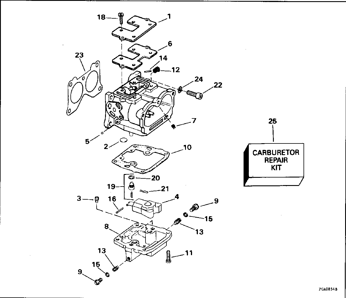 Johnson 9 9 Carburetor Diagram