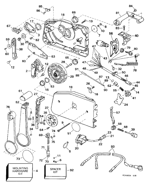 small resolution of brp evinrude en 1998 200 se200wtplg 1998 remote control rh vansoutboardparts com omc throttle control box omc throttle control manual