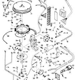 mercury force 50 h p 1986 507f6a alternator and electrical components [ 2230 x 2904 Pixel ]