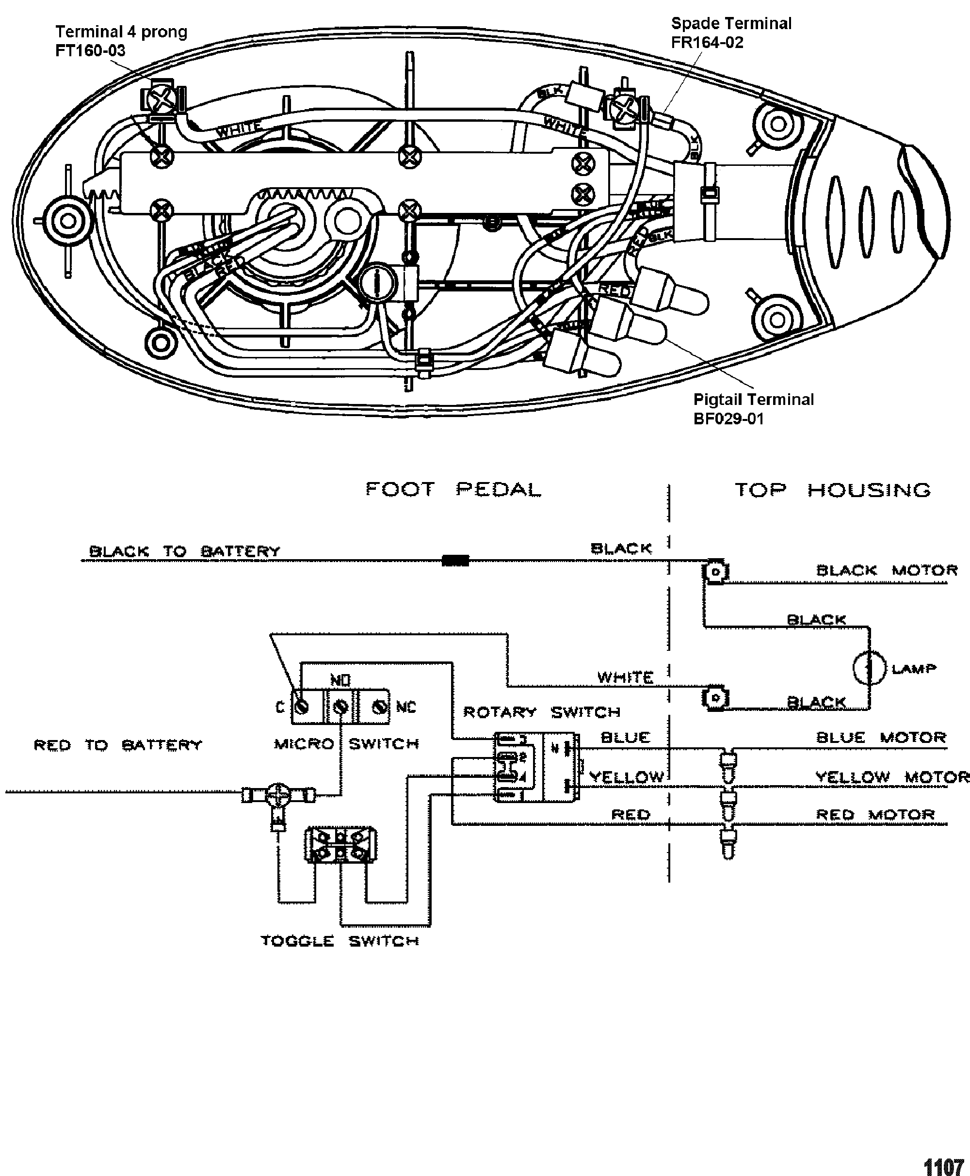 12 Wire Motor Diagram : Part Winding / They can be used as