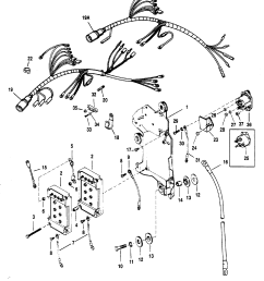 mercury mariner v 175 0d082000 thru 0g303045 wiring harness starter solenoid [ 1885 x 2237 Pixel ]