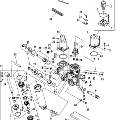 Mercury Outboard Parts Online Simple Boat Trailer Wiring Diagram 225 3 0l Efi 0t801000 Thru