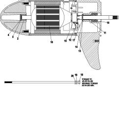 Outboard Motor Lower Unit Diagram Wiring Plug Switch Light Mercury Impremedia