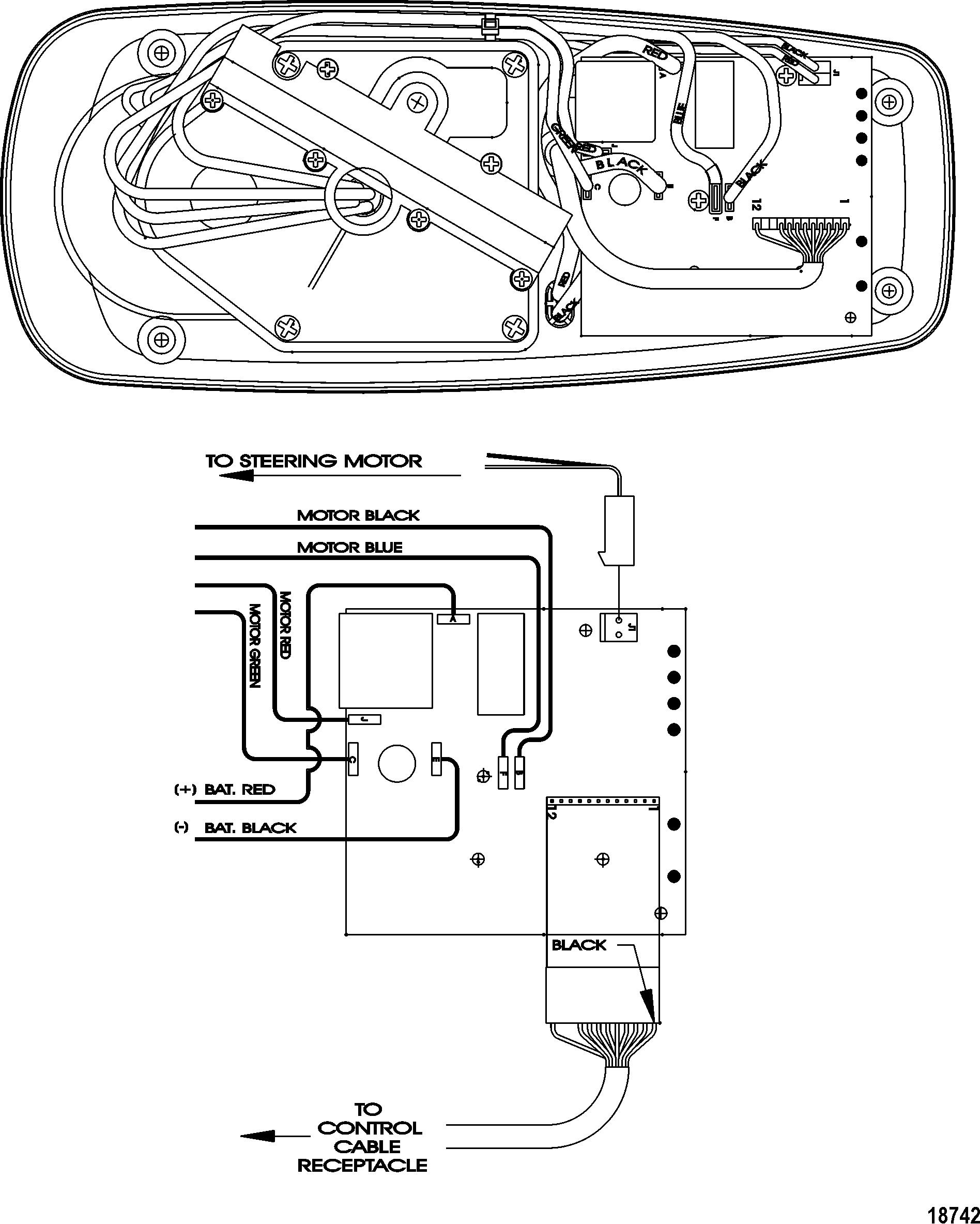 motorguide wiring diagram for household light switch mercury thruster trolling motor 46