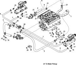Mercruiser Wiring Diagram 5 0 Kenworth Battery Mercury 7l Carb Ski 0w090900 Thru