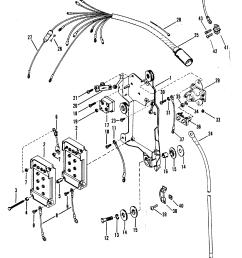 mercury mariner v 150 marathon 5600162 thru 0a904645 wiring harness starter solenoid and rectifier [ 1850 x 2382 Pixel ]