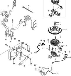 mercury mariner 30 efi 3 cyl 4 stroke 0r106999 up flywheel ecu and wiring harness [ 1885 x 2436 Pixel ]