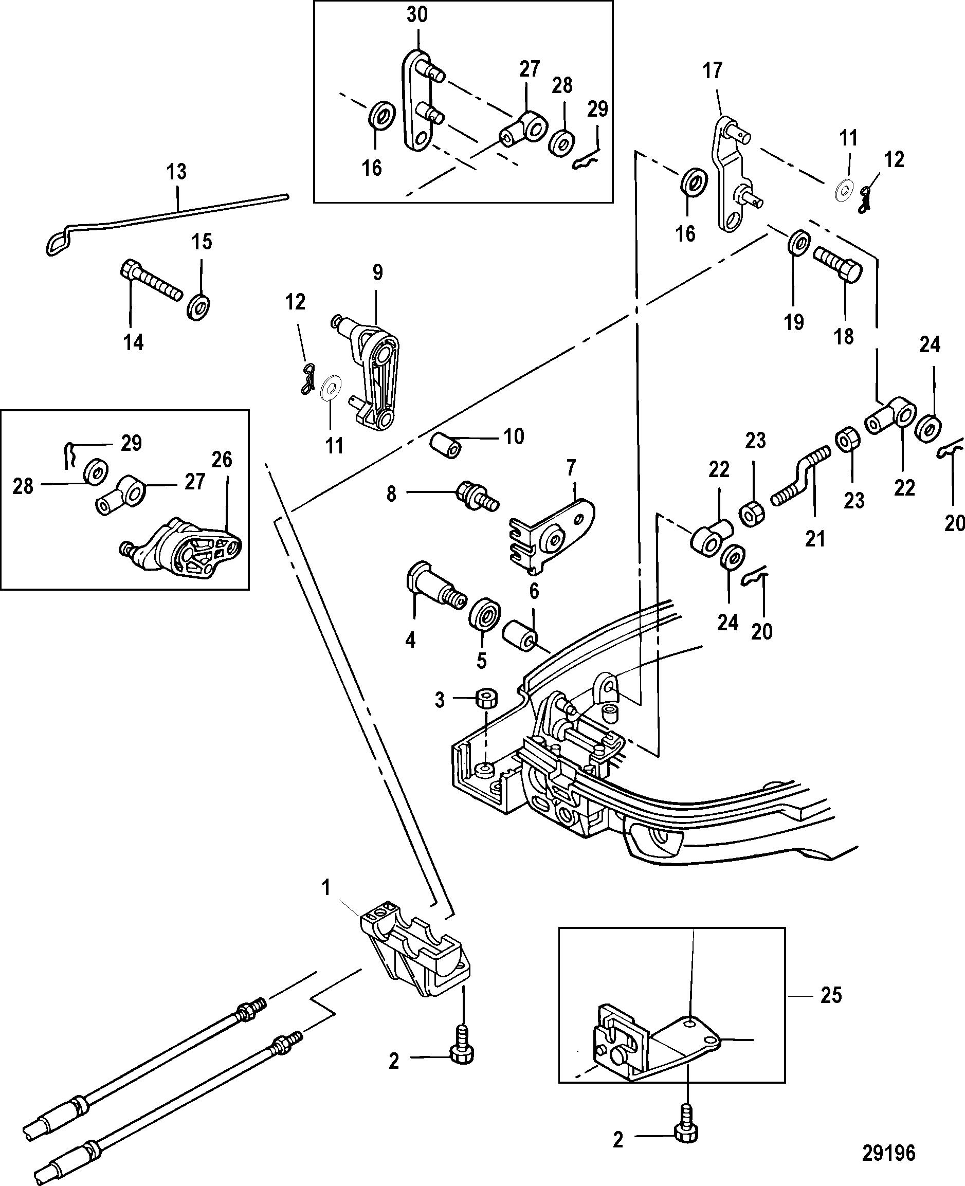 Volvo Penta Shift Cable Diagram