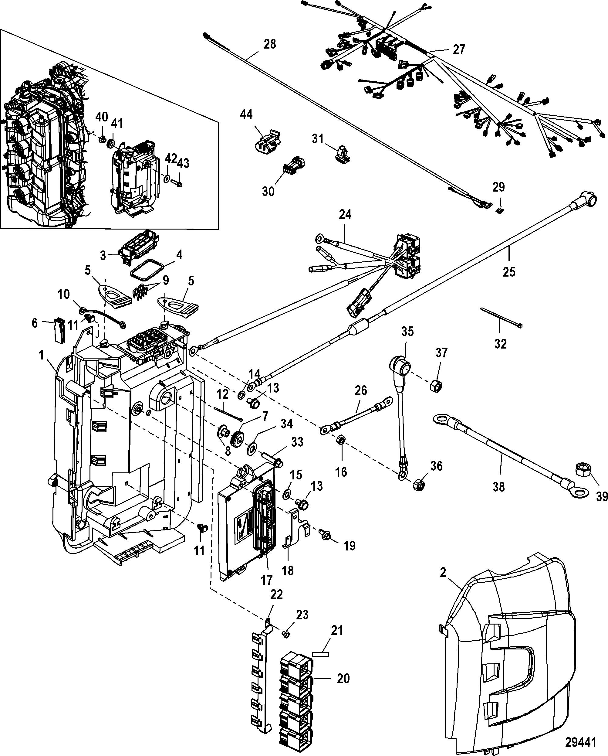 mercury verado wiring diagram cat5e socket schematic wire softail