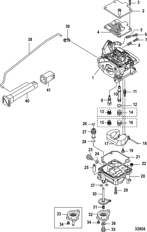 small resolution of ref description qty required price 1 carburetor assembly