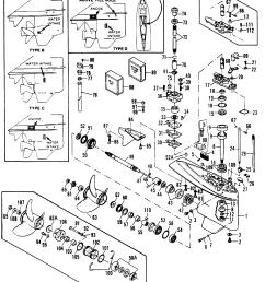 mercury force 90 h p 1991 1994 0e000001 thru 0e093699 gear housing [ 1956 x 2282 Pixel ]