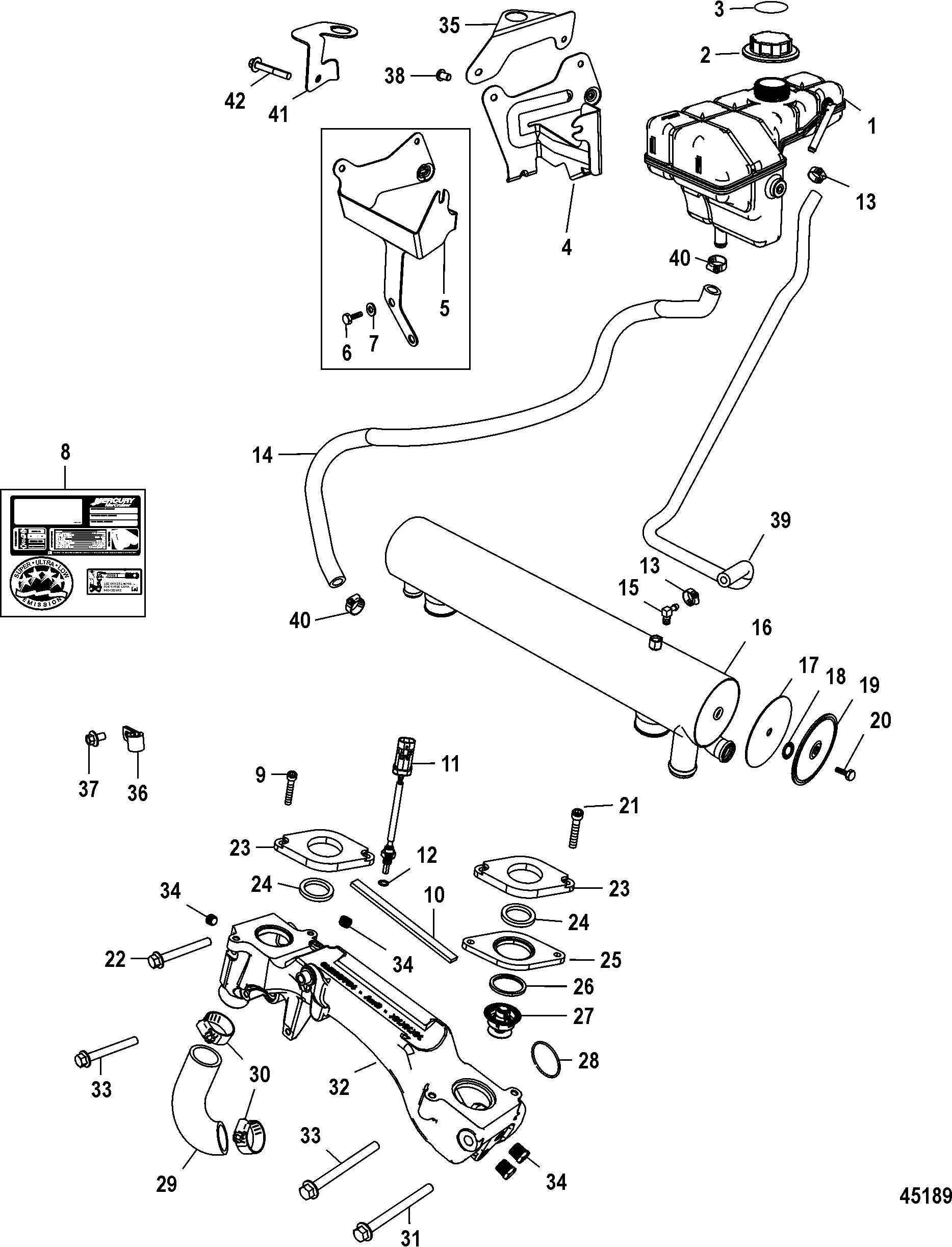7 4l Mercruiser Engines Diagram
