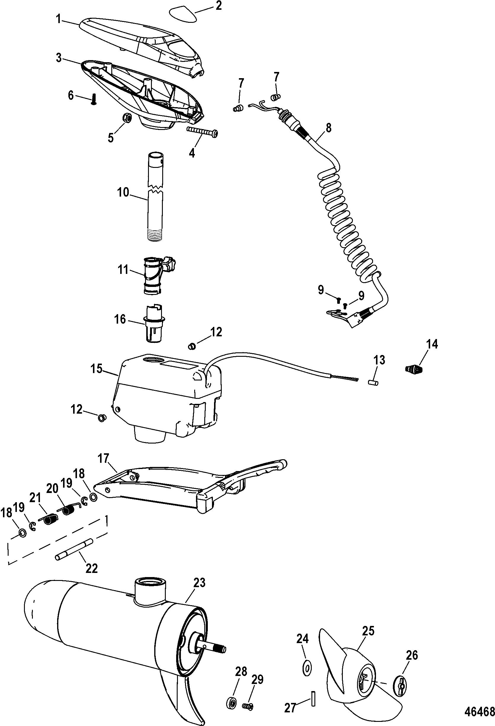 Motorguide Xi5 Parts Diagram