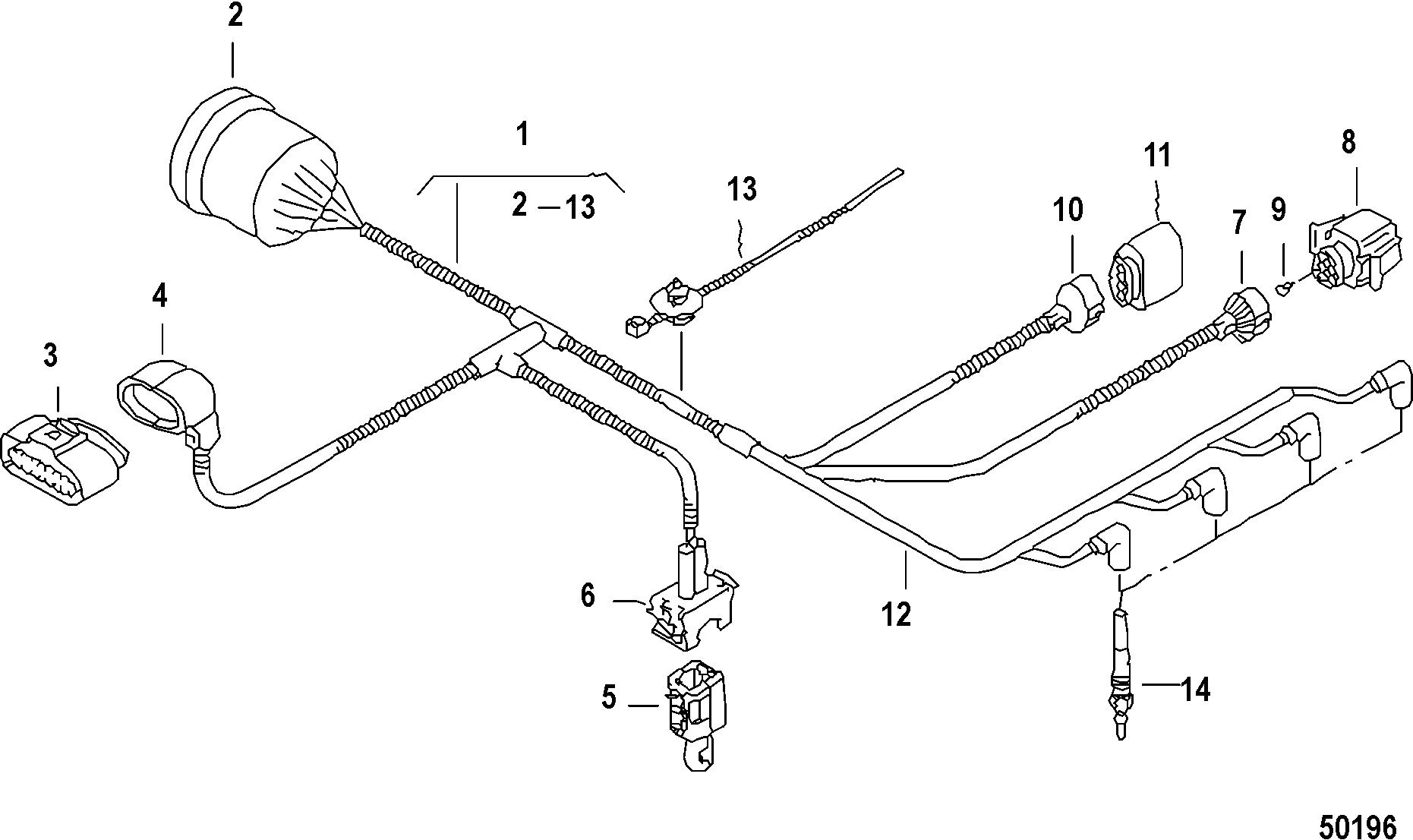 mercury verado wiring diagram 1990 honda accord brake light harness auto