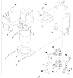 mercury race sterndrive ssm six all up trim pump assembly  [ 1870 x 2489 Pixel ]