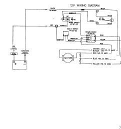 mercury trolling motor motorguide hvf and hvt series 1996 up wire diagram model hvf5000 hvf5200 12 volt  [ 1934 x 1937 Pixel ]