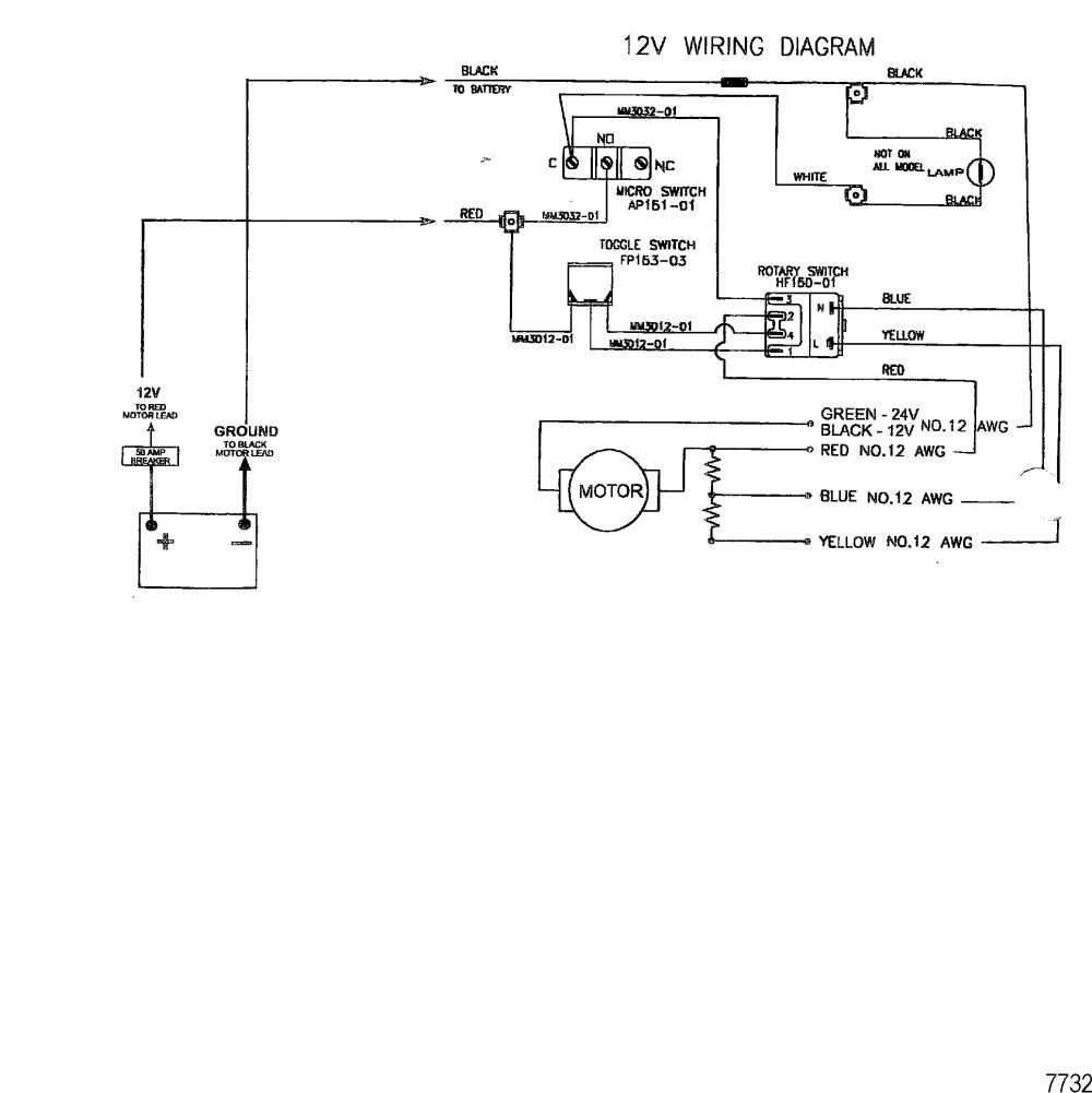 medium resolution of mercury trolling motor motorguide hvf and hvt series 1996 up wire diagram model hvf5000 hvf5200 12 volt