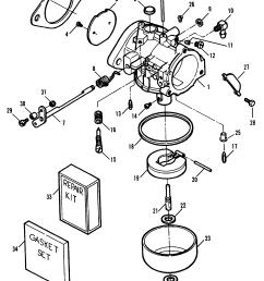 mercury force 70 h p 1991 1995 0e000001 thru 0e138599 carburetor [ 2008 x 2663 Pixel ]