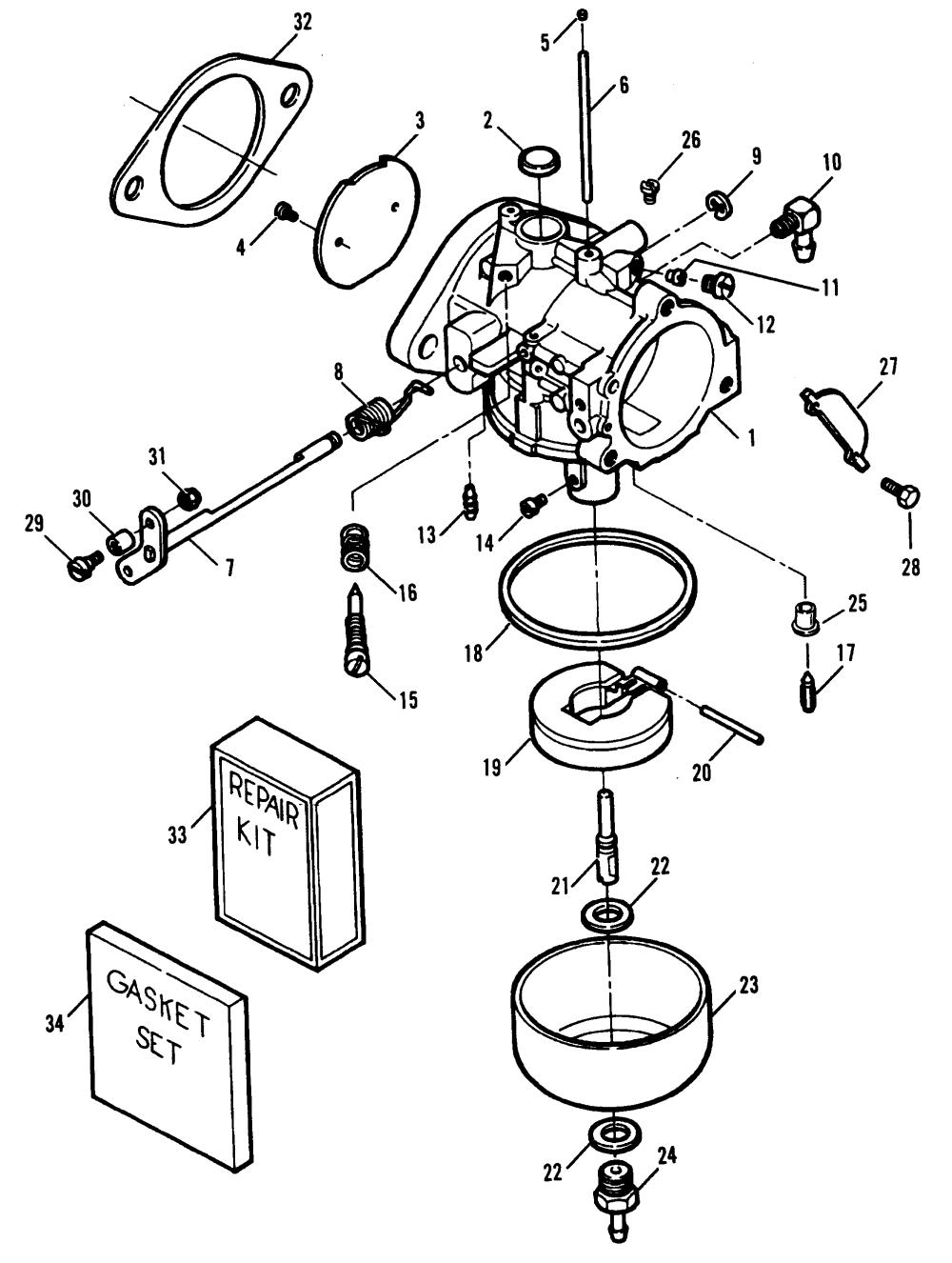 medium resolution of mercury force 70 h p 1991 1995 0e000001 thru 0e138599 carburetor