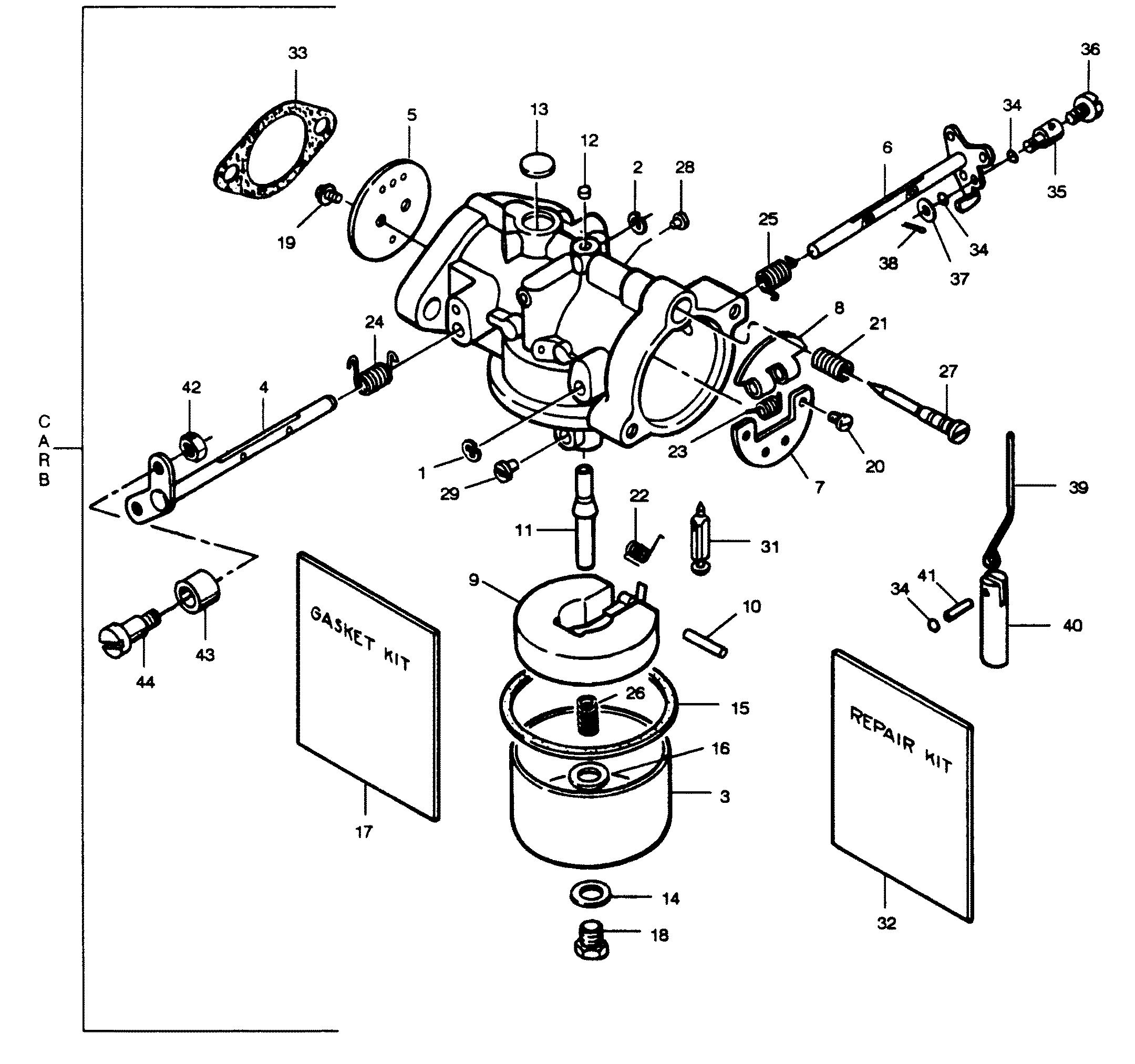 outboard tach wiring diagram